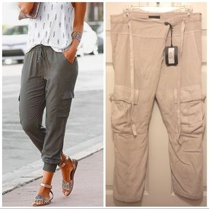 ANTHROPOLOGIE tapered cargo pants